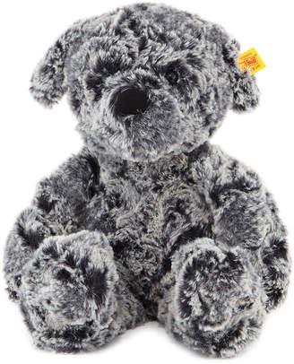 Steiff Medium Taffy Dog, Mottled Grey