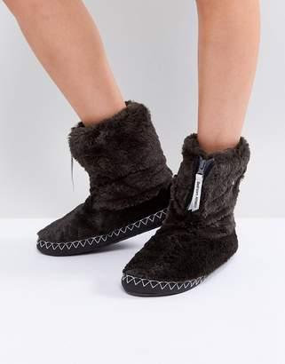 Bedroom Athletics Marilyn Short Faux Fur Slipper Boot