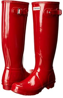 Hunter Tall Gloss Rain Boots Women's Rain Boots