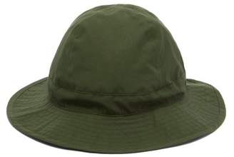 De Bonne Facture - Bob Waterproof Cotton Bucket Hat - Mens - Green