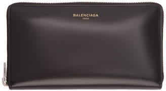 Balenciaga Black Everyday Continental Wallet