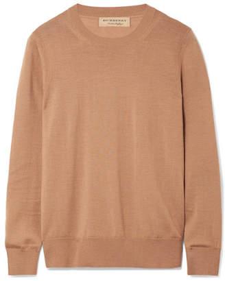 Burberry Merino Wool Sweater - Sand