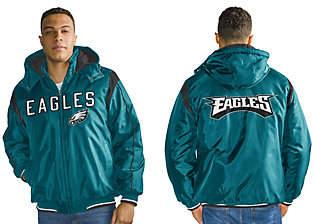 NFL Polyfil Detachable Hood Jacket