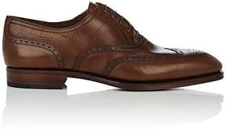 Carmina Shoemaker Men's Leather Wingtip Balmorals