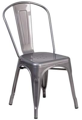 clear Williston Forge Roberto Coated Dining Chair