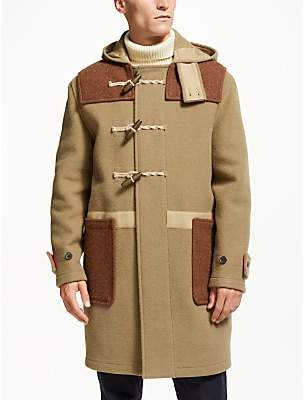 Gloverall for John Lewis & Partners Patchwork Monty Duffle Coat, Multi