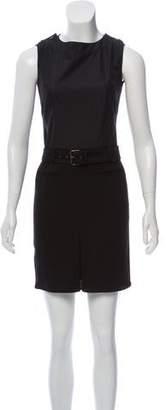 Derek Lam Sleeveless Belted Dress