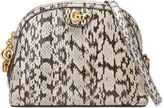 Gucci Ophidia small snakeskin shoulder bag