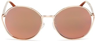 TOMS Blythe Mirrored Sunglasses, 58mm - 100% Bloomingdale's Exclusive $159 thestylecure.com