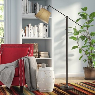 """Red Barrel Studio Bryner 65"""" Swing Arm Floor Lamp Red Barrel Studio"""