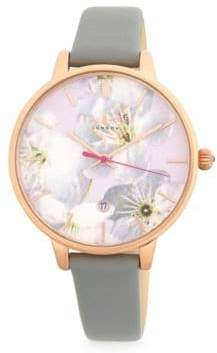 Ted Baker Kate Leather Strap Watch
