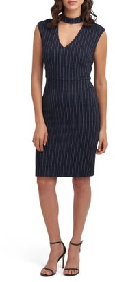 Women's Eci Choker Sheath Dress $88 thestylecure.com