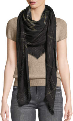Zadig & Voltaire Scotty Mixed Plaid Scarf