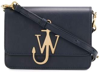 J.W.Anderson navy anchor logo bag
