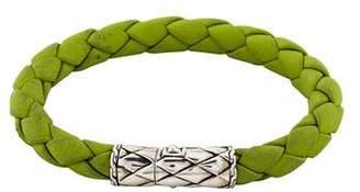 John Hardy Leather Legends Naga Bracelet