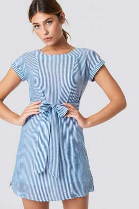 MANGO Bombay Dress Sky Blue