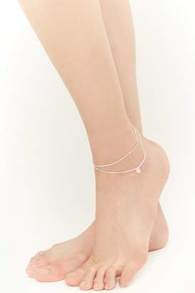 Forever 21 Layered Disc Anklet