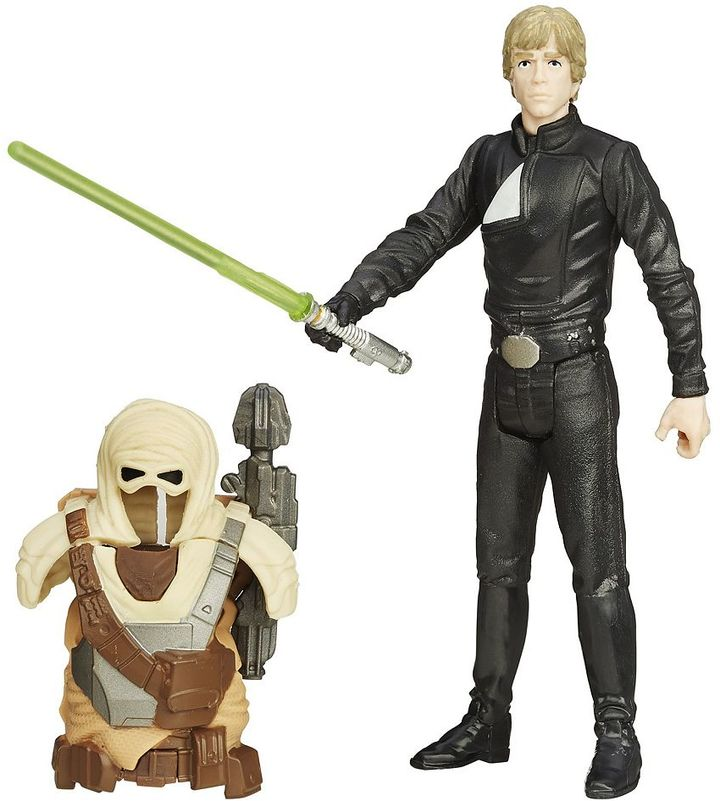 Hasbro Star Wars: Episode VI Return of the Jedi 3.75-in. Desert Mission Armor Luke Skywalker Figure by Hasbro