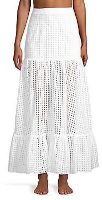 Paper London Women's Marianne Broderie Skirt