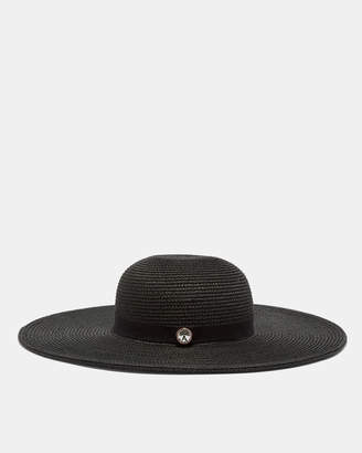 Ted Baker THEASA Gem detail floppy hat