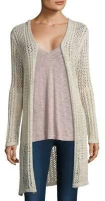 Splendid Open Knit Cardigan