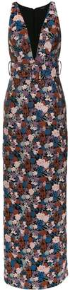 Tufi Duek brocade gown