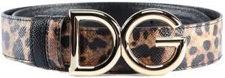 Dolce & Gabbana Logo Reversible Belt