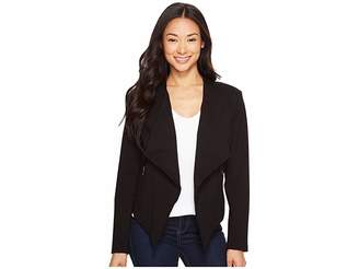 Liverpool Lapel Jacket Ponte Knit Women's Coat