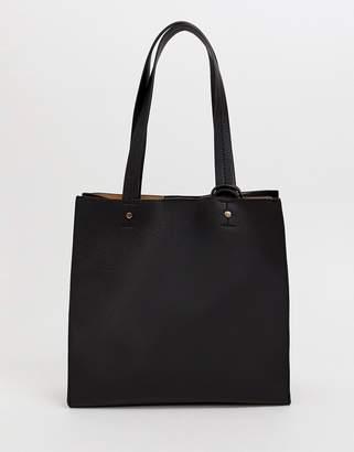 Asos Design DESIGN square shopper bag