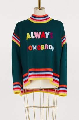 Mira Mikati Always Tomorrow sweater