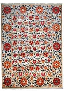 Suzani Collection Oriental Rug, 9' x 12'3
