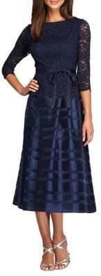 Alex Evenings Petite Tea-Length A-Line Dress