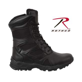 Rothco Forced Entry Deployment Boot With Side Zipper, -egular