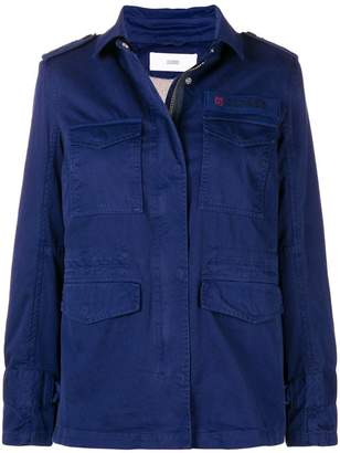 Closed utility jacket
