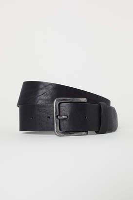 H&M Wide leather belt