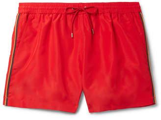 Paul Smith Mid-length Swim Shorts - Red