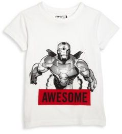 ELEVEN PARIS Little Boy's & Boy's Awesome Iron Man Graphic Printed Tee $48 thestylecure.com