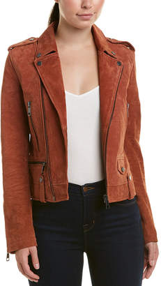 Bagatelle Perfecto Suede Jacket