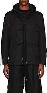 Craig Green Men's Cotton Poplin Pullover Anorak - Black
