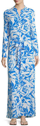 Melissa Odabash Printed Long Cover-Up Dress