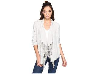 BB Dakota Santal Slub French Terry Cardigan Women's Sweater
