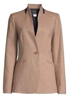 Lafayette 148 New York Darcy Plaid Jacket