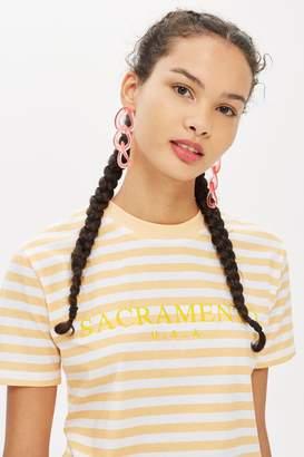 adidas Sacremento Stripe T-Shirt by Tee Cake
