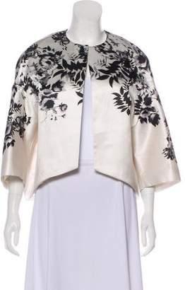 Giambattista Valli Printed Open Front Jacket