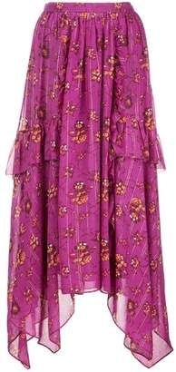 Ulla Johnson floral print skirt