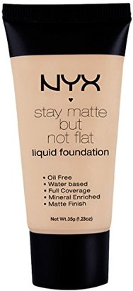 NYX Stay Matte But Not Flat Liquid Foundation - SMF 05 - Soft Beige $22.74 thestylecure.com