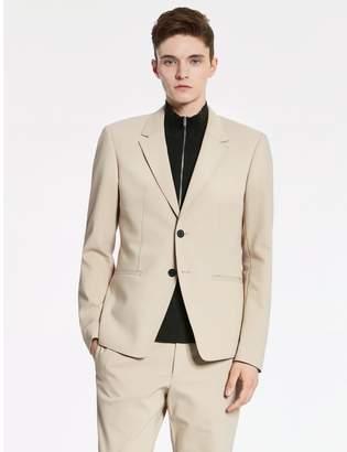 Calvin Klein tech cotton oxford deconstructed jacket