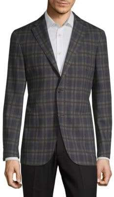 COLLECTION Wool Plaid Sportcoat