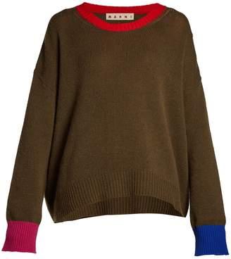 Marni Oversized cashmere jumper
