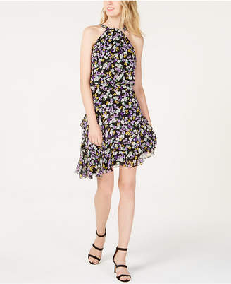 INC International Concepts I.n.c. Floral-Print Halter Dress